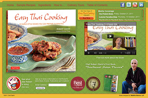 KIARO Computer Solutions Web Development client promo sitlete Easy Thai Cooking
